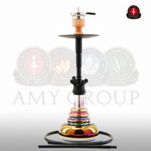 Amy Big Cloud Rainbow - black - RS black powder