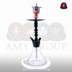 AMY Alu Diamond S 062 - black powder clear